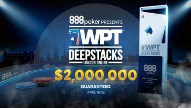 WPTDeepStacks London Online Hits the Ground Running at 888poker!