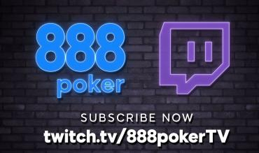 888poker Hits the Mark with New Twitch 888pokerTV Channel!