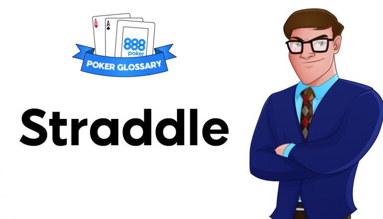 Straddle - poker terms